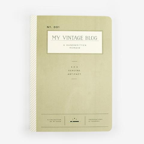 Vintage Blog Journal