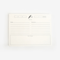 Secretary Notepad