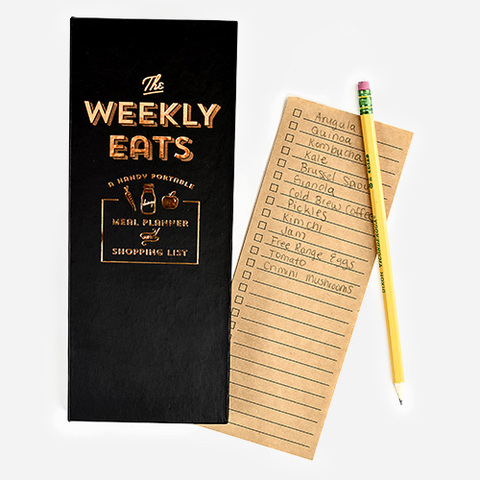Hardcover Weekly Eats