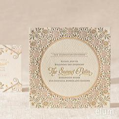 Darjeeling Reception Card