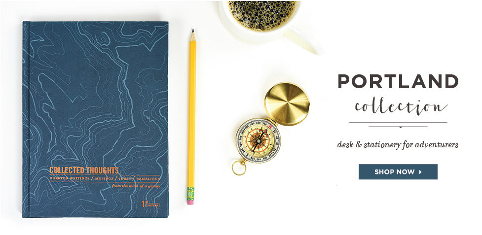 Portland Desk and Stationery Collection