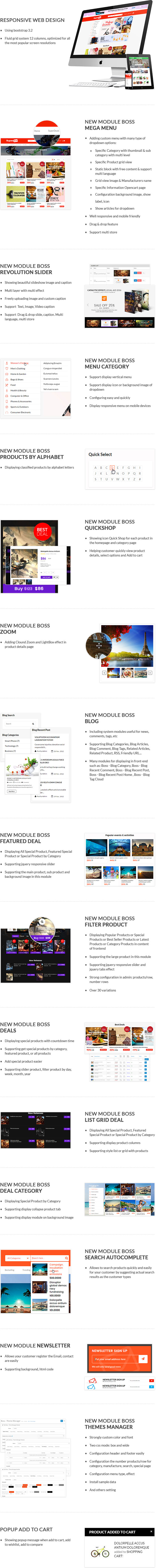 Super Deal - Premium Responsive Opencart Theme - Daily Deals, Best Deals Module + Blog