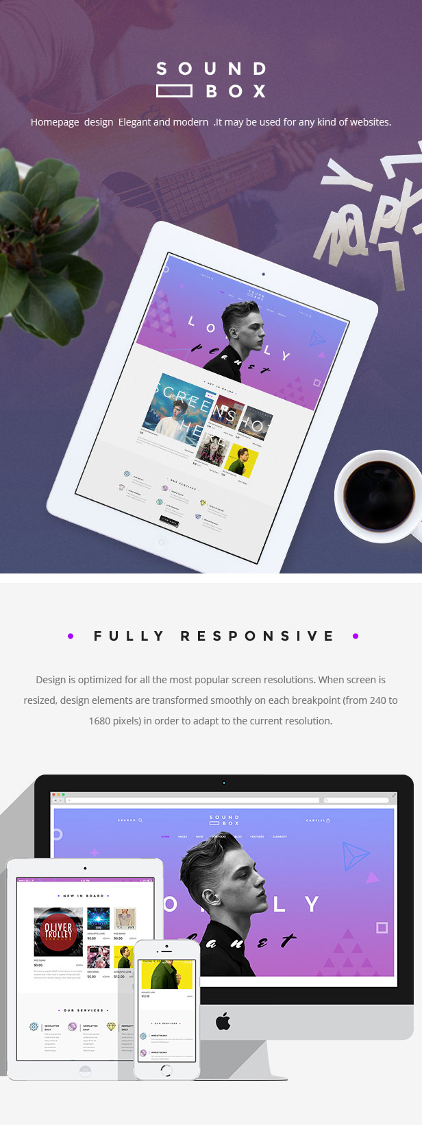 SoundBox | Easy Digital Download Responsive WordPress Theme