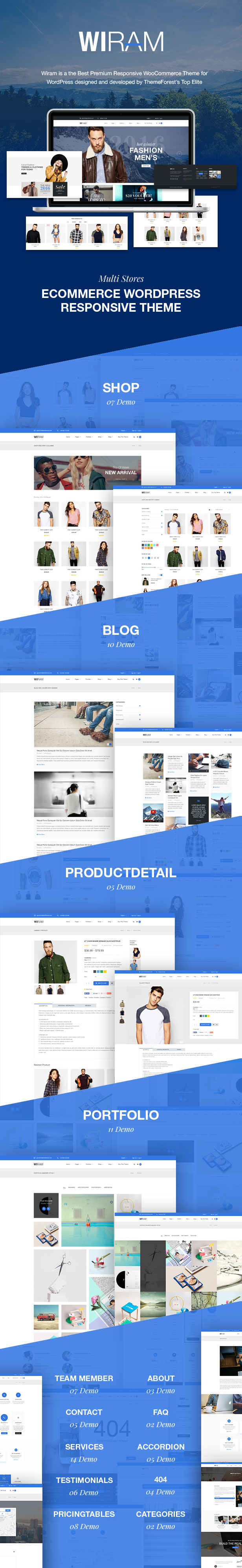 WordPress theme WPDANCE - Multipurpose WooCommerce WordPress Theme | WIRAM (eCommerce)