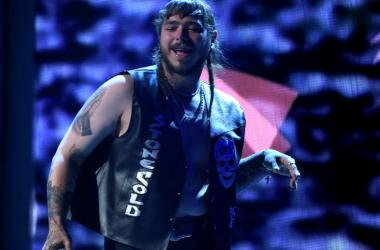 Post Malone performs onstage at the 2017 BET Awards at the Microsoft Theater on June 25, 2017 in Los Angeles, California.