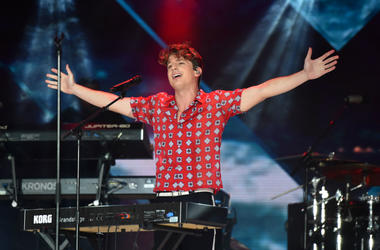 6/9/2018 - Charlie Puth during Capital's Summertime Ball with Vodafone at Wembley Stadium, London. This summer's hottest artists performed live for 80,000 Capital listeners at Wembley Stadium at the UK's biggest summer party.