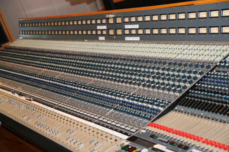 A view during Music Camp Studio Day with Ross Copperman and Carrie Underwood at Belmont University's Ocean Way Nashville Studios