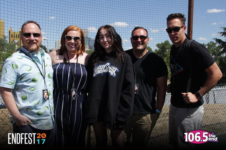 Noah Cyrus Endfest 2017 Sacramento Interview Wake Up Call