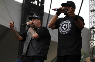 Cypress Hill performs during Lollapalooza at Grant Park in Chicago, Illinois, Sunday, August 8, 2010.