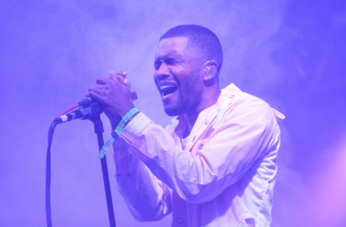 Artist Frank Ocean performs during the 2014 Bonnaroo Music & Arts Festival