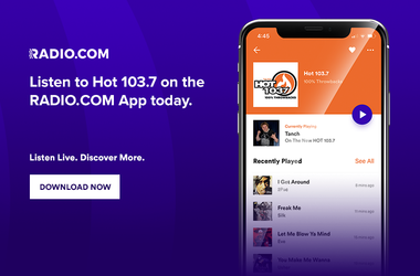 Listen to HOT 103.7 with the Radio.com app