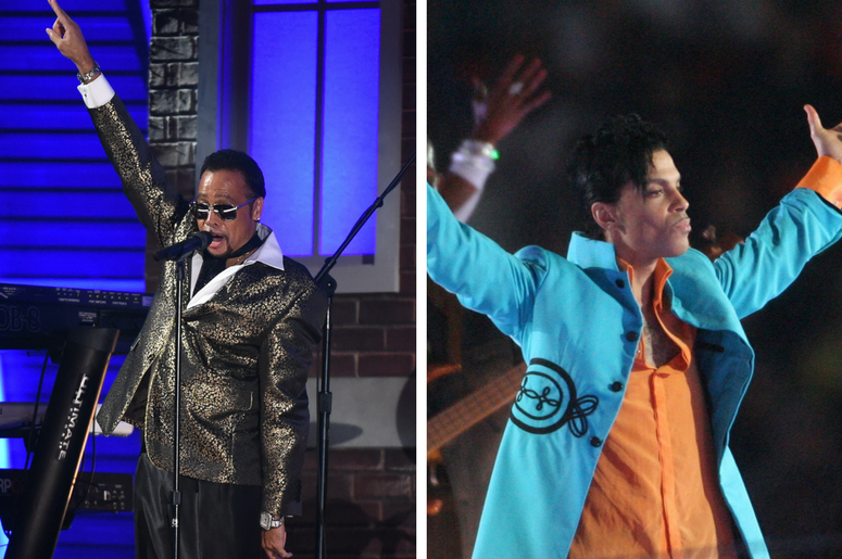 Morris Day of The Time and Prince