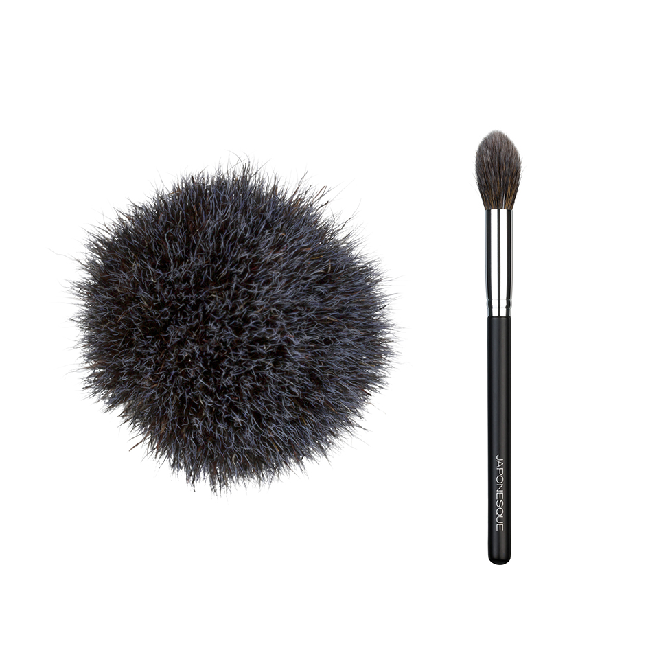 Tapered-Powder-Brush-Shape