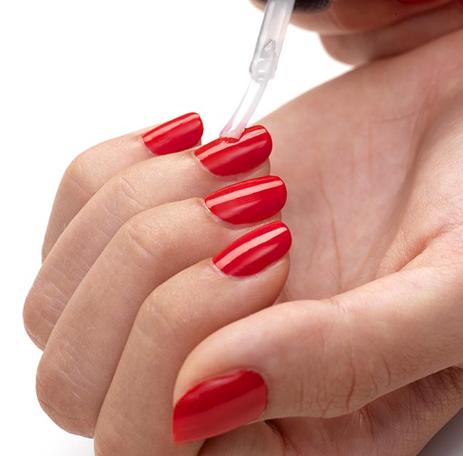 Japonesque Flawless Manicure Step 5 Apply polish