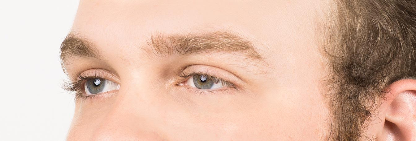 Men's Eyebrows- Ungroomed
