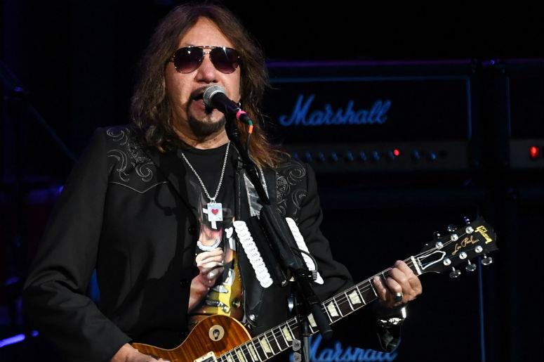 Recording artist Ace Frehley performs at the Hard Rock Live