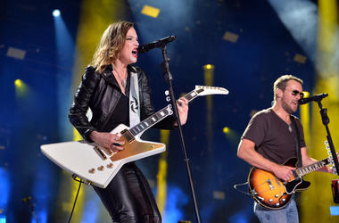 Lzzy Hale, Eric Church, Halestorm