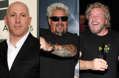 Maynard James Kennan x Guy Fieri x Sammy Hagar