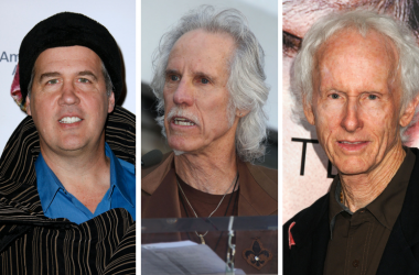 Krist Novoselic of Nirvana and The Doors' Robby Krieger and John Densmore