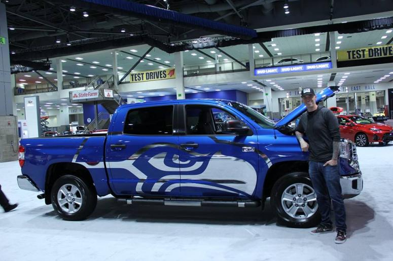Migs Blog Seattle International Auto Show KISW - Seattle car show