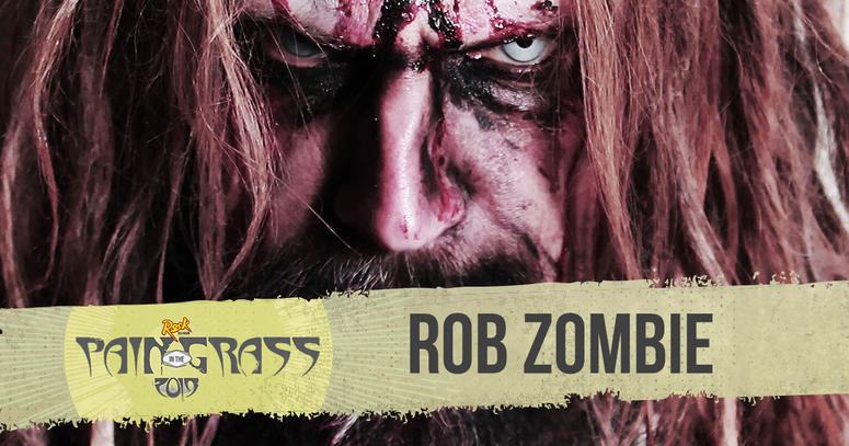 Rob Zombie plays Pain in the Grass 2019