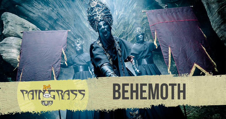 Behemoth plays Pain in the Grass 2019