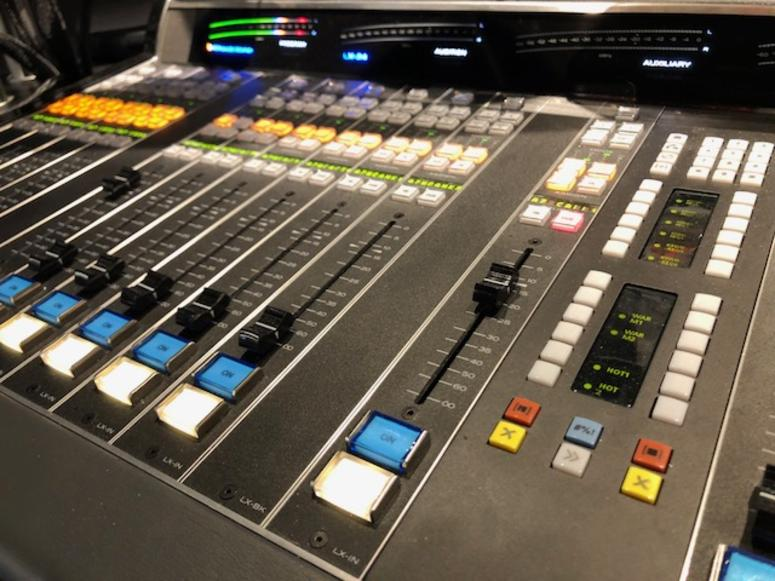 The Sound control room