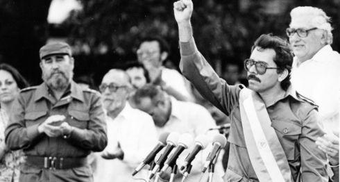 daniel Ortega, Fidel Castro, FSLN