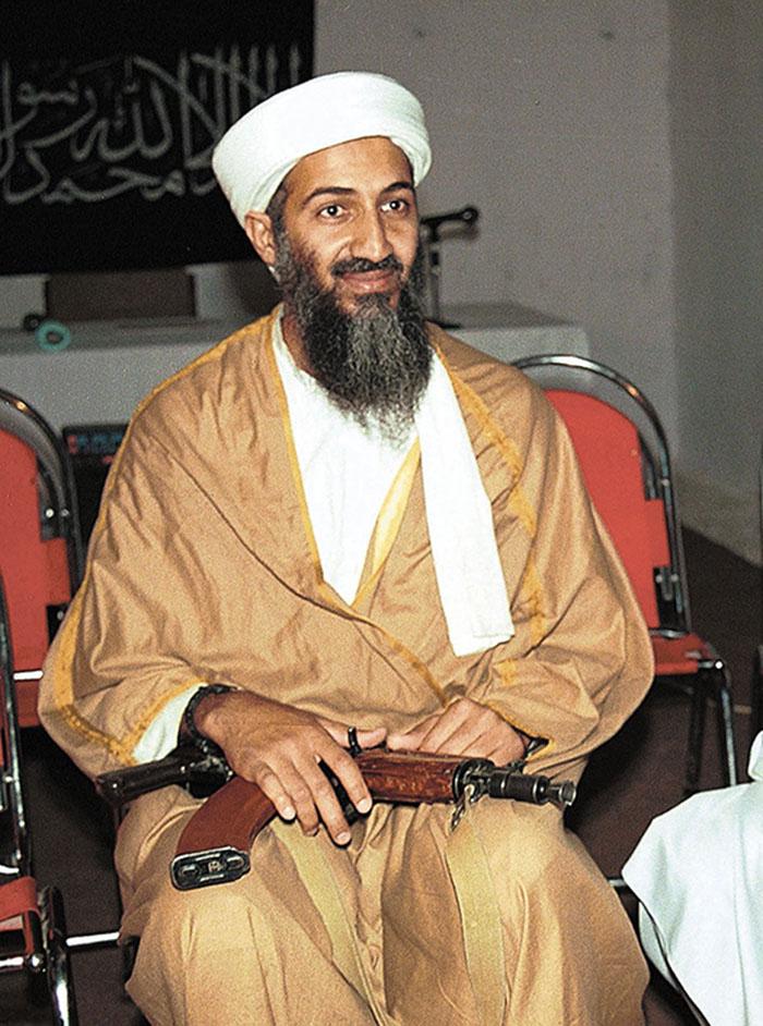 Osama Bin Laden, el supuesto cerebro tras el atentado terrorista a las Torres Gemelas de Nueva York. LA PRENSA/ AP/ ARCHIVO