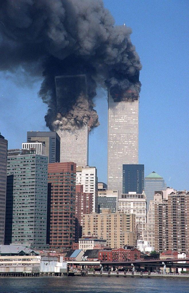 El ataque a las Torres Gemelas de Nueva York el 11 de septiembre del 2001