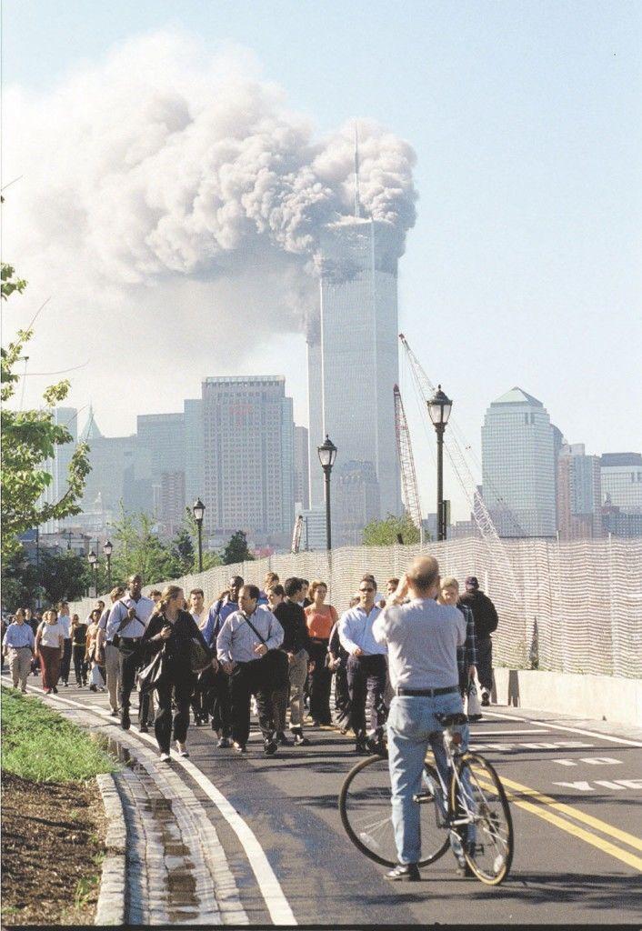 El ataque a las Torres Gemelas de Nueva York el 11 de septiembre del 2001. LA PRENSA/ ARCHIVO