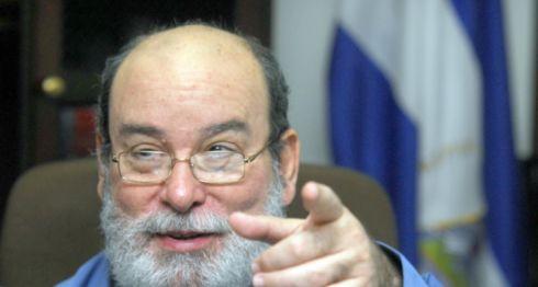 Rafael Solís, magistrado de la Corte Suprema de Justicia y operador político de Daniel Ortega. LA PRENSA/ ARCHIVO