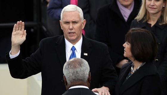 Mike Pence, vicepresidente de Estados Unidos. LA PRENSA/AFP
