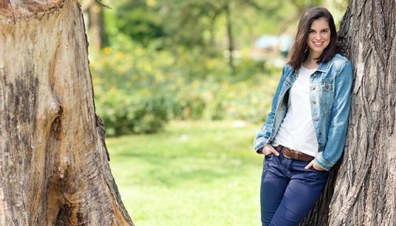 Lucir a la moda usando jeans