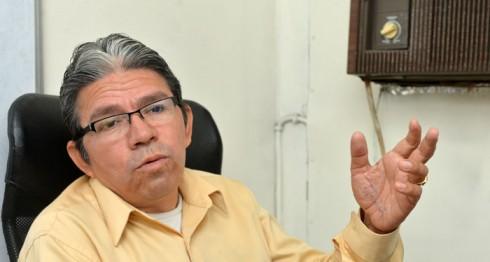 Pablo Cuevas, asesor legal de CPDH y experto en derechos humanos. LA PRENSA / Jader Flores.