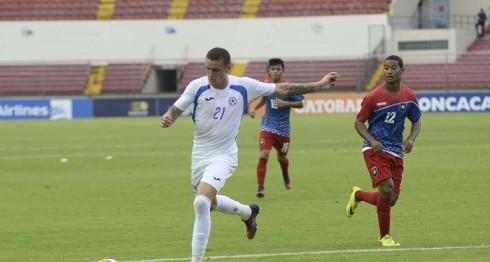 Jaime Moreno es el segundo jugador con más disparos a gol de la Copa Centroamericana. LAPRENSA/ CORTESÍA/ FENIFUT