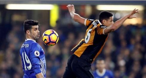 Diego Costa regresó con gol. LAPRENSA/AP