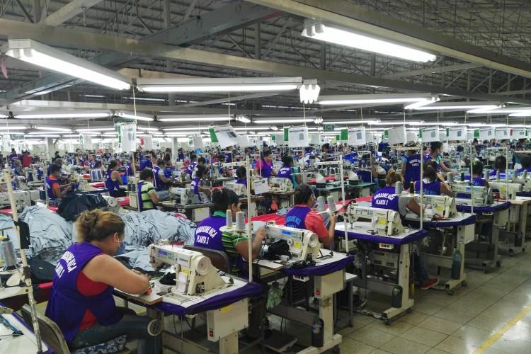 Las maquilas en Nicaragua emplean mucha mano de obra femenina. LAPRENSA/Y.LÓPEZ