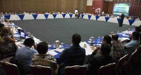 Más de 80 organizaciones de la sociedad civil se reúnen para reflexionar sobre su quehacer y cómo pueden innovar. LAPRENSA/ URIEL MOLINA