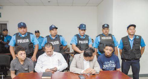 Acusados, muerte de policías, balacera
