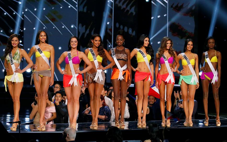 Miss Universo, candidatas