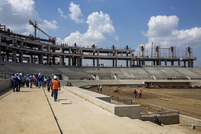 El Estadio Nacional de Beisbol será el principal escenario de los Juegos Centroamericanos de Managua 2017. LA PRENSA/EFE/JORGE TORRES
