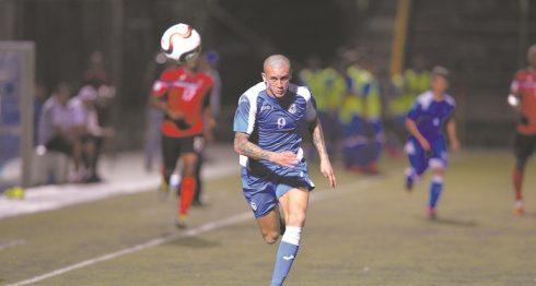 Jaime Moreno debutó este año con la Selección de Futbol .Jader Flores/LA PRENSA