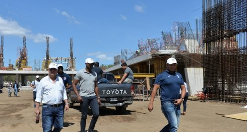 Los delegados de las naciones de la región realizaron un recorrido por las instalaciones en construcción para los Juegos Centroamericanos Managua 2017. LA PRENSA/JADER FLORES