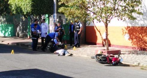 Matan de dos disparos a hombre de 30 años presuntamente por robarle moto en barrio Cuba de Managua. LA PRENSA/ W. NARVÁEZ