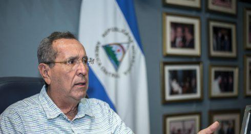 Arnoldo Alemán, presidente de Nicaragua entre 1997 y 2002. LA PRENSA / Óscar Navarrete.