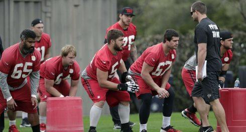 Los Falcons de Atlanta buscan su primera victoria en Super Bowl. LA PRENSA/Tim Warner/Getty Images/AFP