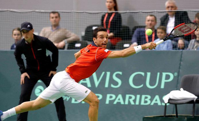 El español Roberto Bautista tuvo un gran partido. LAPRENSA/ EFE