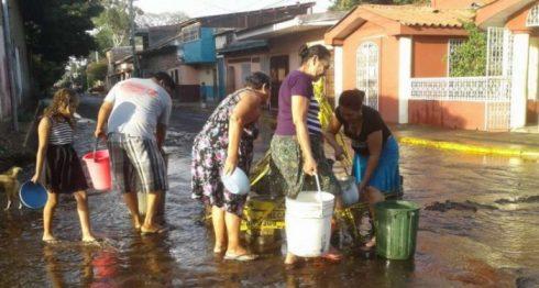Tubería de agua, Red de agua y saneamiento de Nicaragua, Enacal