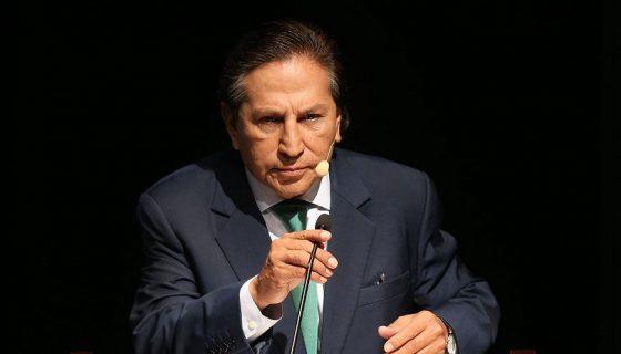 El exmandatario, Alejandro Toledo, es la primera gran figura de la política peruana inculpada por haber recibido sobornos de Odebrecht. LAPRENSA/EFE